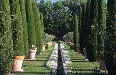 Les Confines, the private Provencal garden internationally-renowned designer Dominique Lafourcade