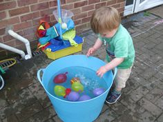 Water Balloons! | Pre-school Play