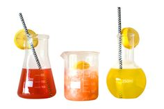 Science Lab Conical Flasks Chemistry Set Glassware by HomeCrush
