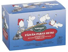 Moomin Tea - Best Moment of the Day Wild Strawberries, Blue Berry Muffins, Blueberry, Lunch Box, In This Moment, Tea Box, Strawberry, Lemon