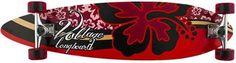 SkatePro.fi - Voltage Hibiscus Longboard