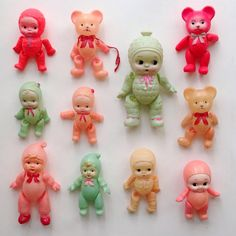 Instapam's collection. The little teddy bears resemble the fair prizes you used to get .