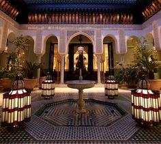 Mamounia Marrakech, La Mamounia, Moroccan Design, Moroccan Decor, Moroccan Style, Morocco Hotel, Marrakech Morocco, Leading Hotels, Islamic Architecture