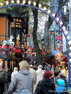 My most favourite alley in the whole wide world  Tivoli Gardens  Copenhagen, Denmark
