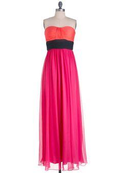 dance dresses  | Isle Be Dancing Dress - Long, Formal, Party, Pink, Orange, Black ...
