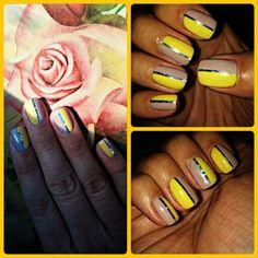 #newnails #hídvéginikolett #yellow