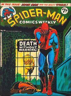 Spider-Man Comics Weekly #91. Marvel UK.