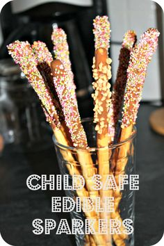 For the kids during a wedding sparkler sendoff. #weddingideas