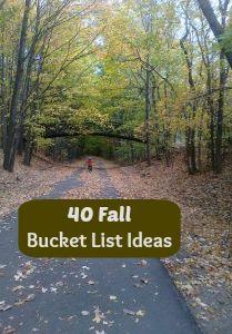 40 Fall Bucket List Ideas