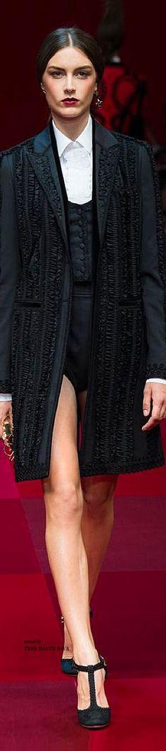 #Milan FW Dolce & Gabbana SS 2015 RTW