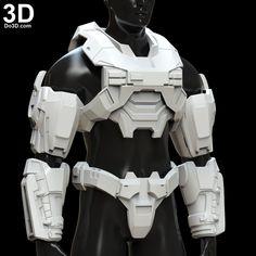 Halo Reach Armor, Halo Spartan Armor, Halo Armor, Halo Reach Emile, Halo Cosplay, Armadura Cosplay, Futuristic Armour, Futuristic Helmet, Robot Costumes