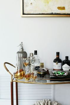 How To: Stock a Bar Cart | Rue