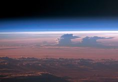 Supercells over the midwestern U.S., from the ISS.