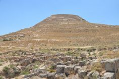Driving south from Jerusalem, the landscape is dominated by an artificial cone-shaped mountain on which Herod the Great built the fortress-palace he dedicated to himself. Herodium rises 758 metres …