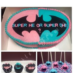 Image result for superhero gender reveal Twin Gender Reveal, Gender Reveal Gifts, Gender Reveal Photos, Gender Party, Baby Gender Reveal Party, Batman Baby Room, Reveal Parties, Cool Baby Stuff, Rose
