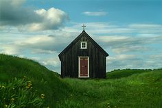 Little old church, Sjavarborg, Iceland  (by lolla_sig)