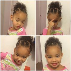 Hairstyles baby - baby hairstyles and haircuts ellecrafts, h Mixed Baby Hairstyles, Lil Girl Hairstyles, Girls Natural Hairstyles, Kids Braided Hairstyles, Toddler Hairstyles, Baddie Hairstyles, Fitness Workouts, Cornrows, Kid Braid Styles