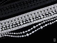 Harry Winston @HarryWinston Ten rows of #diamonds sparkle with distinction in #HarryWinston's Secret Combination Bracelet. #HWSecrets http://hwin.st/2mU38jK