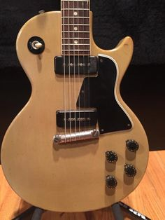 Rick Nielsen's 1955 Gibson Les Paul Special Limed Mahogany