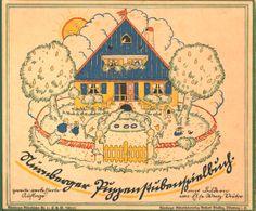Das Nürnberger Puppenstubenspielbuch, Else Wenz-Vietor, ca. 1920.