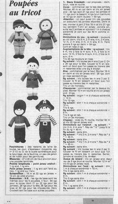 Poupées au tricot: