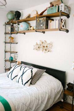 Industrial Style Bedroom Design Ideas-31-1 Kindesign