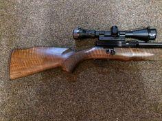 RWS EXCALIBER 8 shot .22 2 x mags very nice looking walnut stock hard case moderator full power 3-9x40 scope