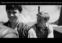 YES it's about repentance which is one reason why I love Edmund so much. His story just gives me so much hope.