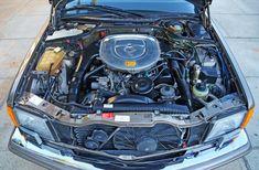 1987 Mercedes 560SEC engine