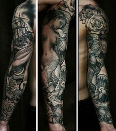 James Spencer Briggs Tattoo... LOVE his Style !