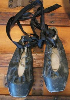 vintage ballet shoes