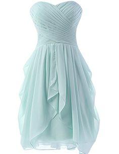 Dress U Womens Ruched Bridesmaid Dress Short Prom Dresses Ice Blue US 2 Dress U http://www.amazon.com/dp/B00X5KONRS/ref=cm_sw_r_pi_dp_yXq6vb1G053SG