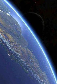 America do Sul Vista do espaço