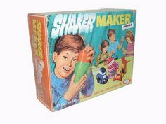 Shaker maker - you could never make them look like the pictures on the box.