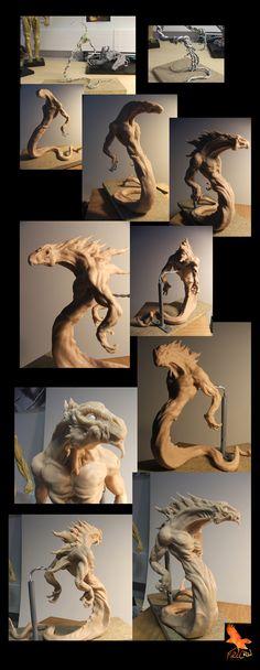 Maquette Work in Progress by ~firecrow78 on deviantART