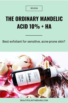 Have you given up on exfoliating acids because they ALWAYS irritate your skin? Would you like to jump on the glycolic acid bandwagon but are scared it'll make your skin peel? Do you have sensitive, acne-prone skin and don't know what the heck to use to exfoliate it without inflaming it even more? If you've answered yes to even just one of these questions, meet the new exfoliating acid on the block: mandelic acid. Click pin for more... Acne Prone Skin, Oily Skin, How To Get Rid Of Acne, How To Find Out, Exfoliator For Sensitive Skin, Mandelic Acid, Skincare Dupes, Skincare Routine, The Ordinary Skincare