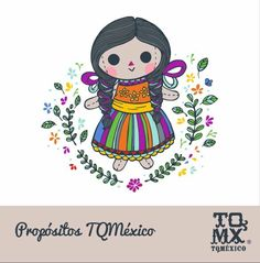 ¡ Viva México ! Love Tattoos, Body Art Tattoos, Tatoos, Mexico Style, Mexico Art, Mexican Pattern, Doll Drawing, Doll Tattoo, Mexican Designs