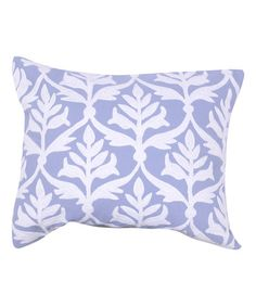 This Embroidered Lattice Pillow is perfect! #zulilyfinds