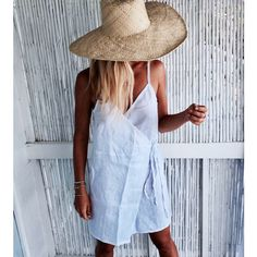 Short Wrap Dress White Linen Cut-Off Wrap Around Dress Beach Dress... ($55) ❤ liked on Polyvore featuring dresses, black, women's clothing, white cocktail dress, white dress, short evening dresses, summer dresses and cocktail dresses