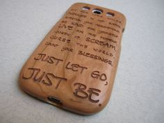 Samsung Galaxy S3  case  wooden cases walnut by CreativeUseofTech, $39.00