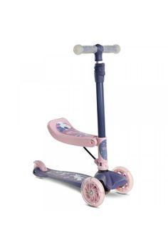 Detská kolobežka 2v1 Toyz Tixi pink Skateboard, Pink, Skateboarding, Hot Pink, Skateboards, Roses