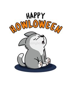 'Howloween Halloween Pun' Sticker by punnybone Funny Food Puns, Cute Jokes, Cute Puns, Halloween Puns, Halloween Doodle, Cute Halloween Drawings, Halloween Rocks, Cartoon Drawings, Cartoon Art