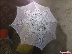 Ombrelli a maglia: a schemi master-class, on-line e con foto di opere di altri artisti