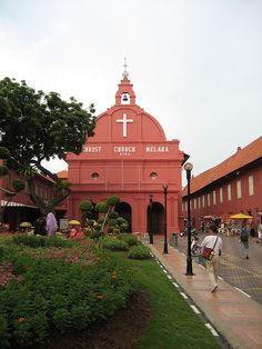 Christ Church Melaka, Malaysia