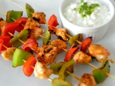 Spicy (and healthy!) buffalo chicken skewers - Fuel for Wellness