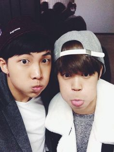 rapmon and jimin's twitter update