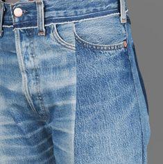 Fashion Gone rouge Style Bleu, Mode Style, All Jeans, Denim Jeans, Pillos, Estilo Denim, Fashion Gone Rouge, Street Looks, Denim Trends