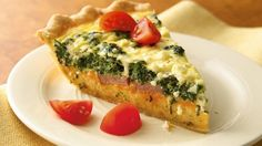 Spinach, Sausage and Feta Quiche – All Simply Recipes