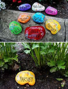 15 Easy DIY Garden Projects With Rocks And Stones | Home Design And Interior