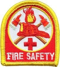 Fire Safety Fun Patch